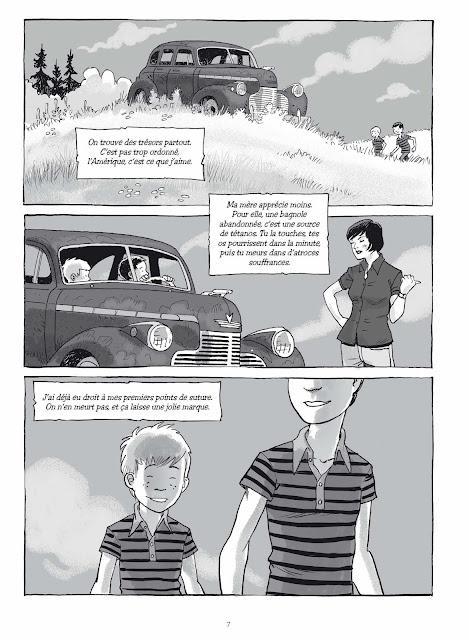 Graines de bandits de Yvon Roy aux éditions Rue de Sèvres page 7