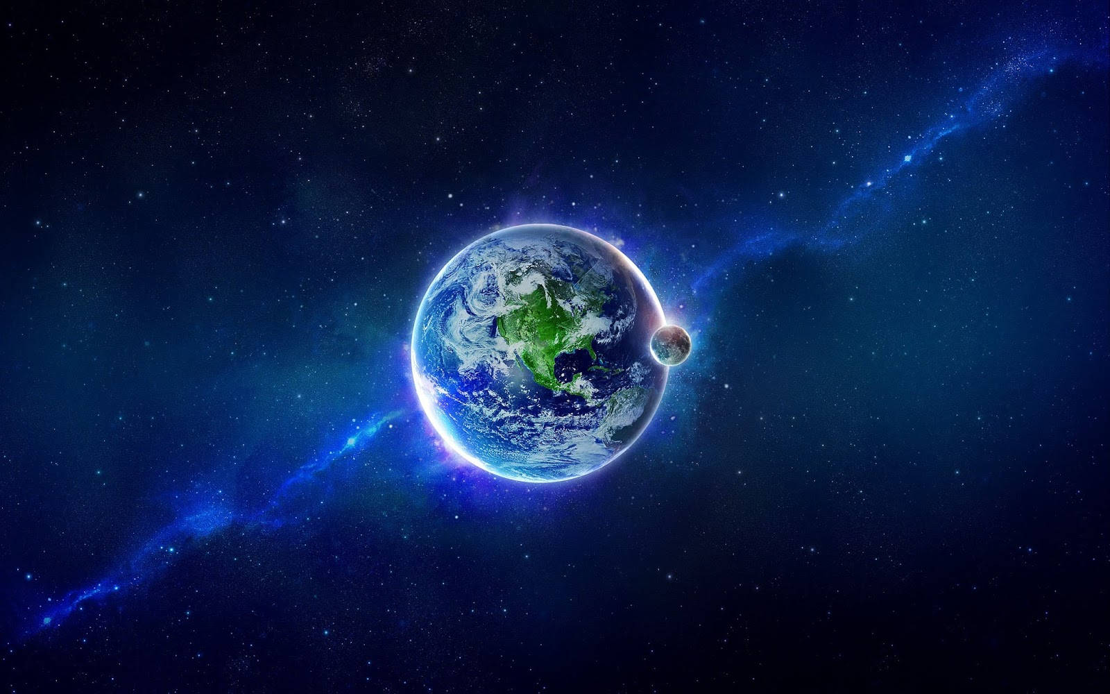 Blue Space Wallpapers