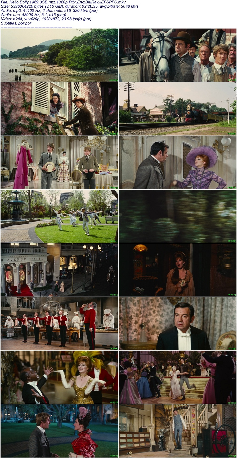 ALÔ, DOLLY! (DUAL ÁUDIO/1080P) – 1969 Hello.Dolly.1969.3GB.rmz.1080p.Ptbr.Eng.BluRay.JEFSPFC