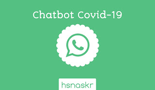 Hasan Askari : Akun chatbot whatsapp pemerintah mengenai virus corona: Covid-19