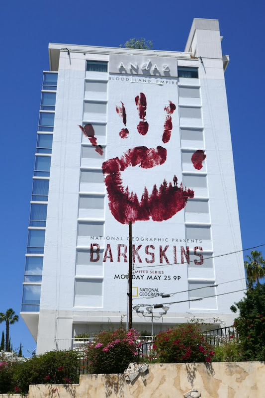 Giant Barkskins series premiere billboard