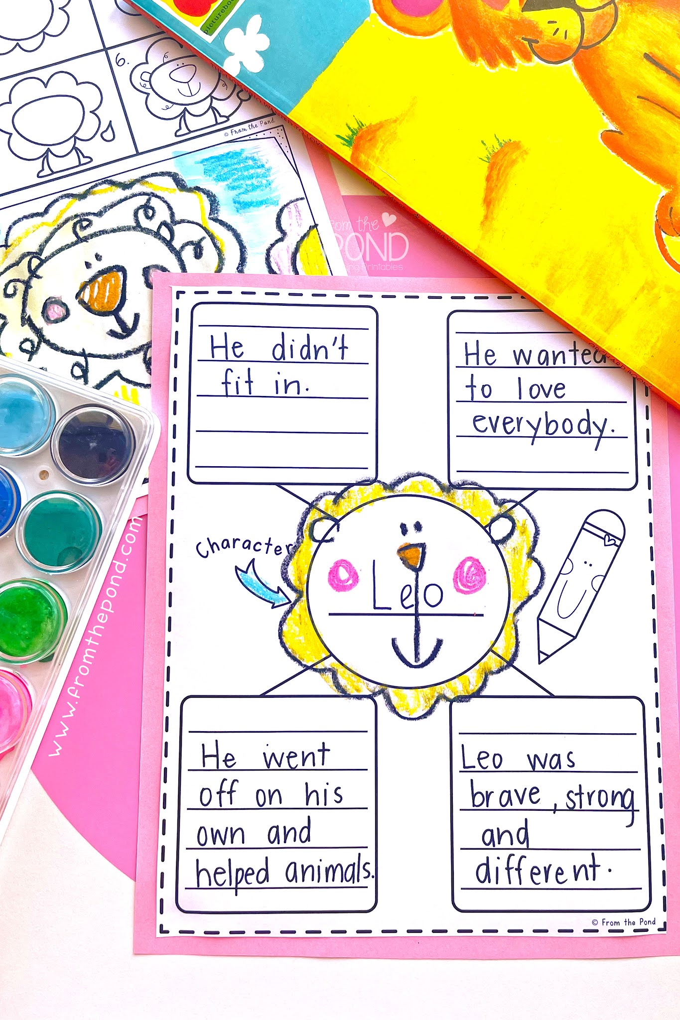 character web in first grade