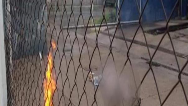 Video: En Celaya Sicarios primero ejecutan a hombres; les prendieron fuego e intentan quemar en el mismo lugar donde les dieron muerte
