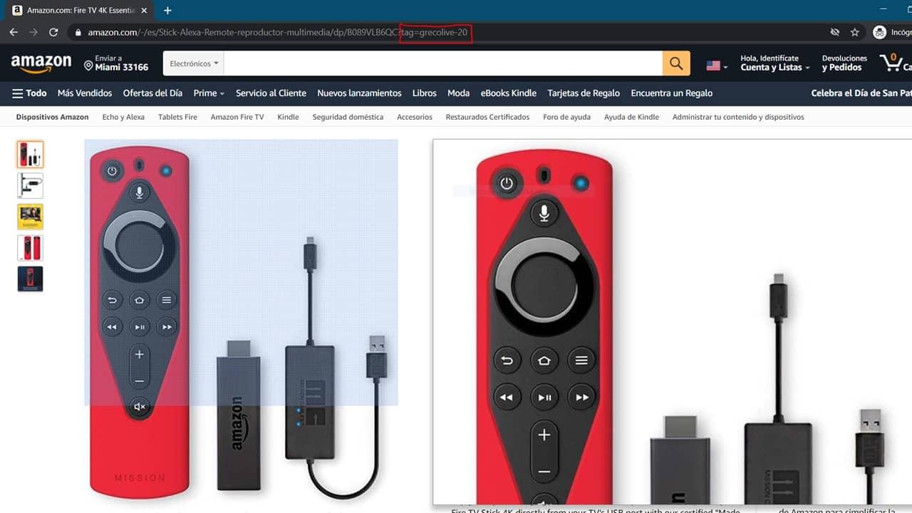 enlace de afiliados Amazon