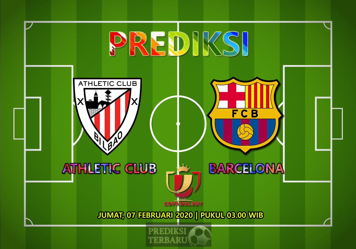 Prediksi Athletic Club Vs Barcelona 07 Februari