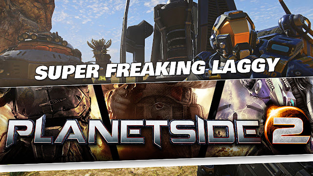 Planetside 2 Gameplay by Kabalyero! Super Freaking LAGGY!