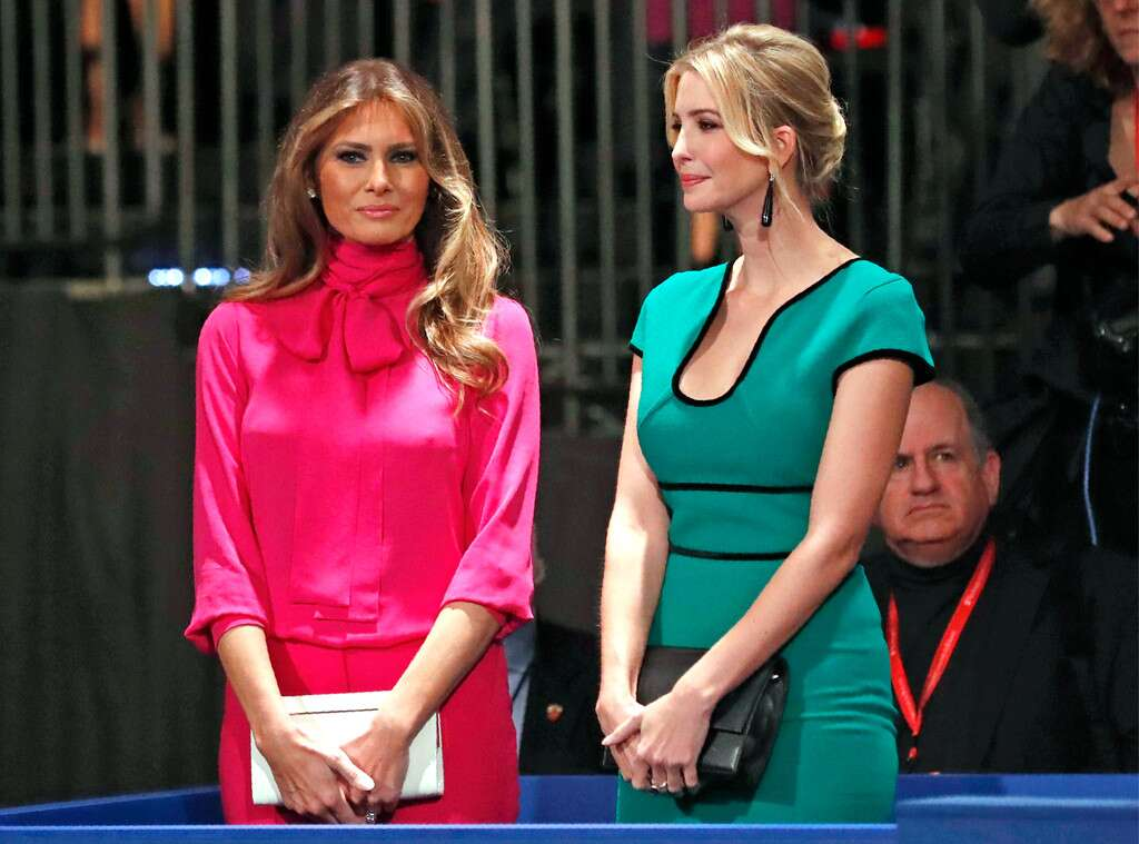 Ivanka Trump and Melania Trump