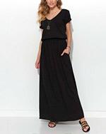 czarne sukienki na lato