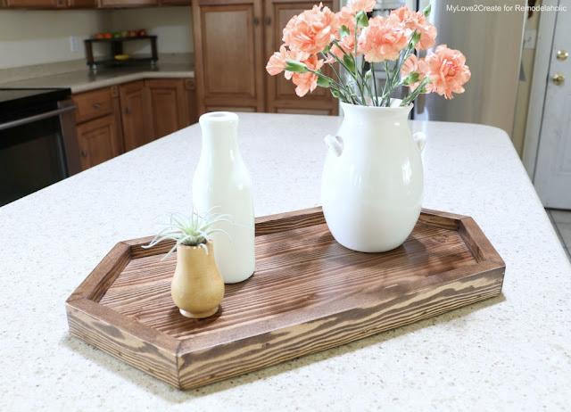 Make a decorative tray