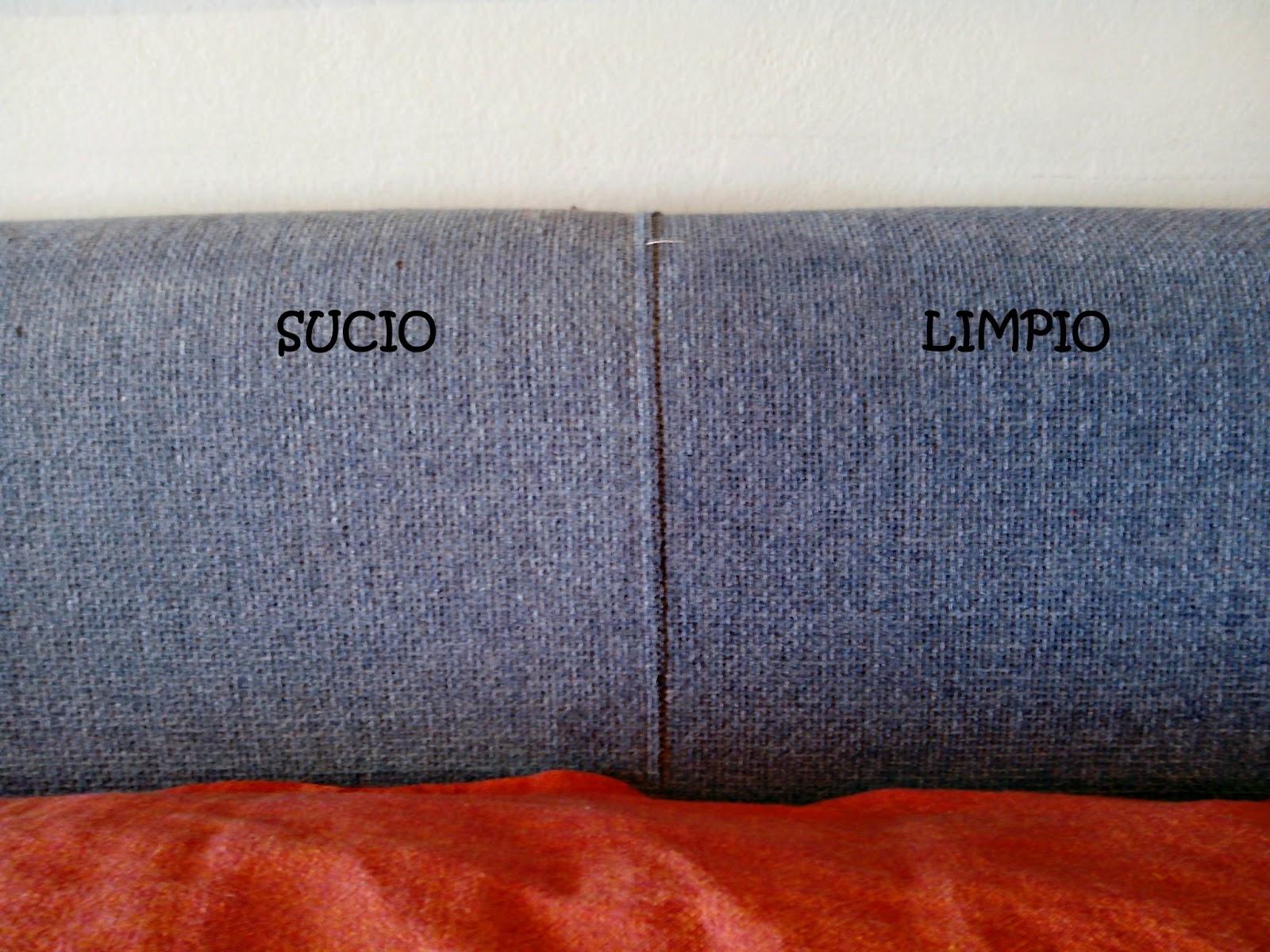 Compartendos limpiar tapicer a sof de tela con alcohol - Como limpiar un sofa ...