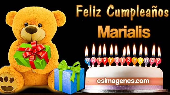 Feliz Cumpleaños Marialis