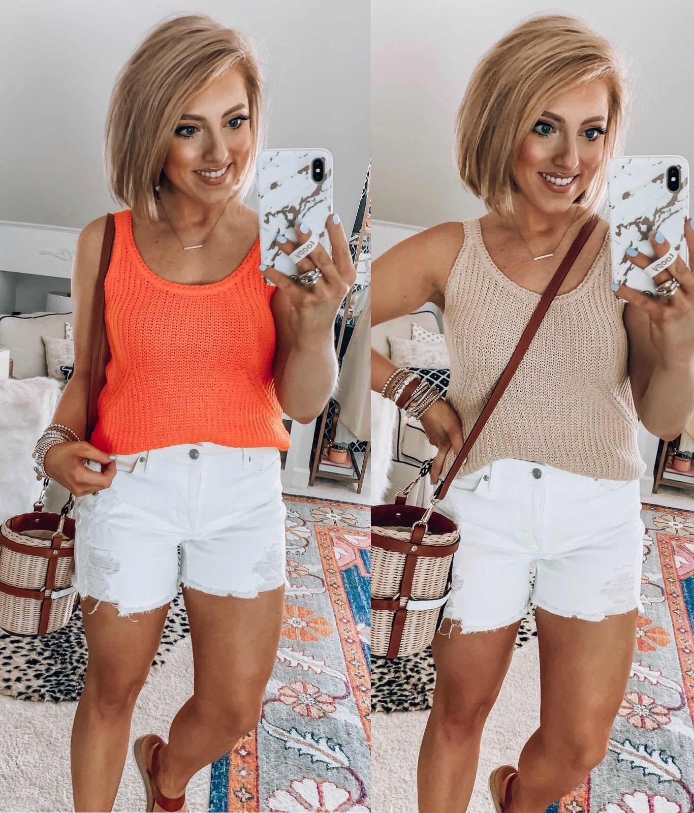 Recent Summer Finds With Walmart - Something Delightful Blog #walmartfashion #affordablefashion #denimshorts #walmartfinds #casualstyle #summerstyle