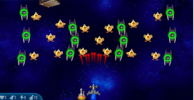 تنزيل لعبة الفراخ Chicken Invaders مجانا برابط مباشر
