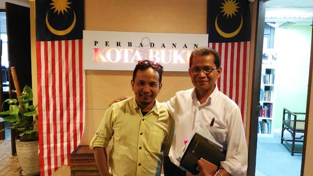 Sayed Munawar, Hassan Hamzah, Perbadanan Kota Buku Malaysia,
