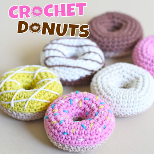 How to Crochet Donuts - Free Pattern