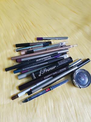 January 2020 eye product declutter - www.modenmakeup.com