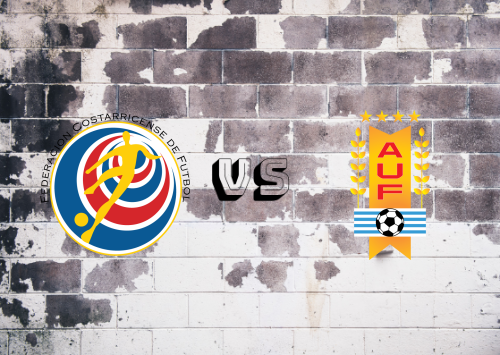 Costa Rica vs Uruguay  Resumen