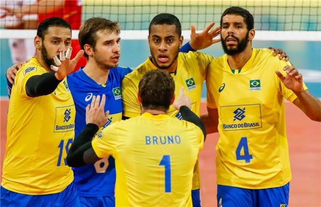 Brasil disputa a Liga das Nações de vôlei em Remini, na Itália, em preparação para as Olimpíadas de Tóquio
