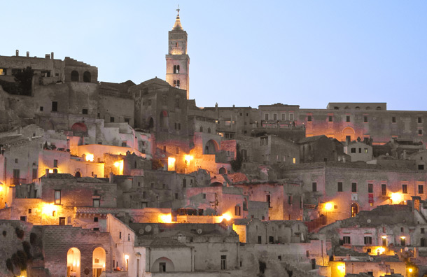 Stay in a Cave in Matera