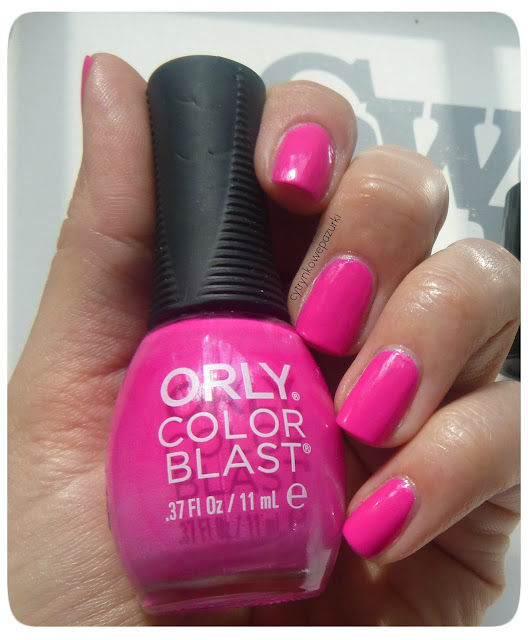 Orly Color Blast speak your mind