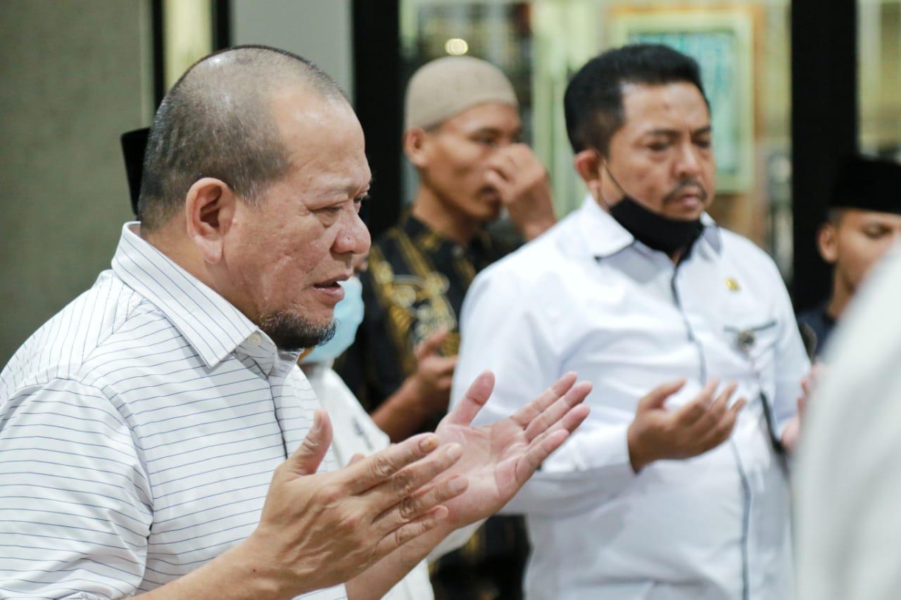 Ketua DPD RI Sampaikan Duka Untuk Sriwijaya Air SJ 182