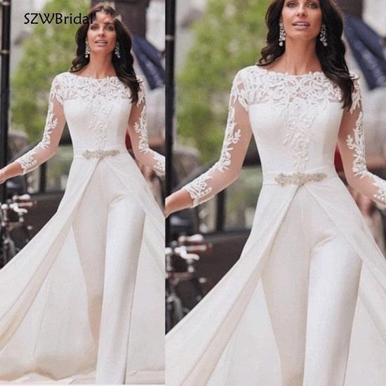 فستان جمبسوت للسهرات والمناسبات موديل 2020