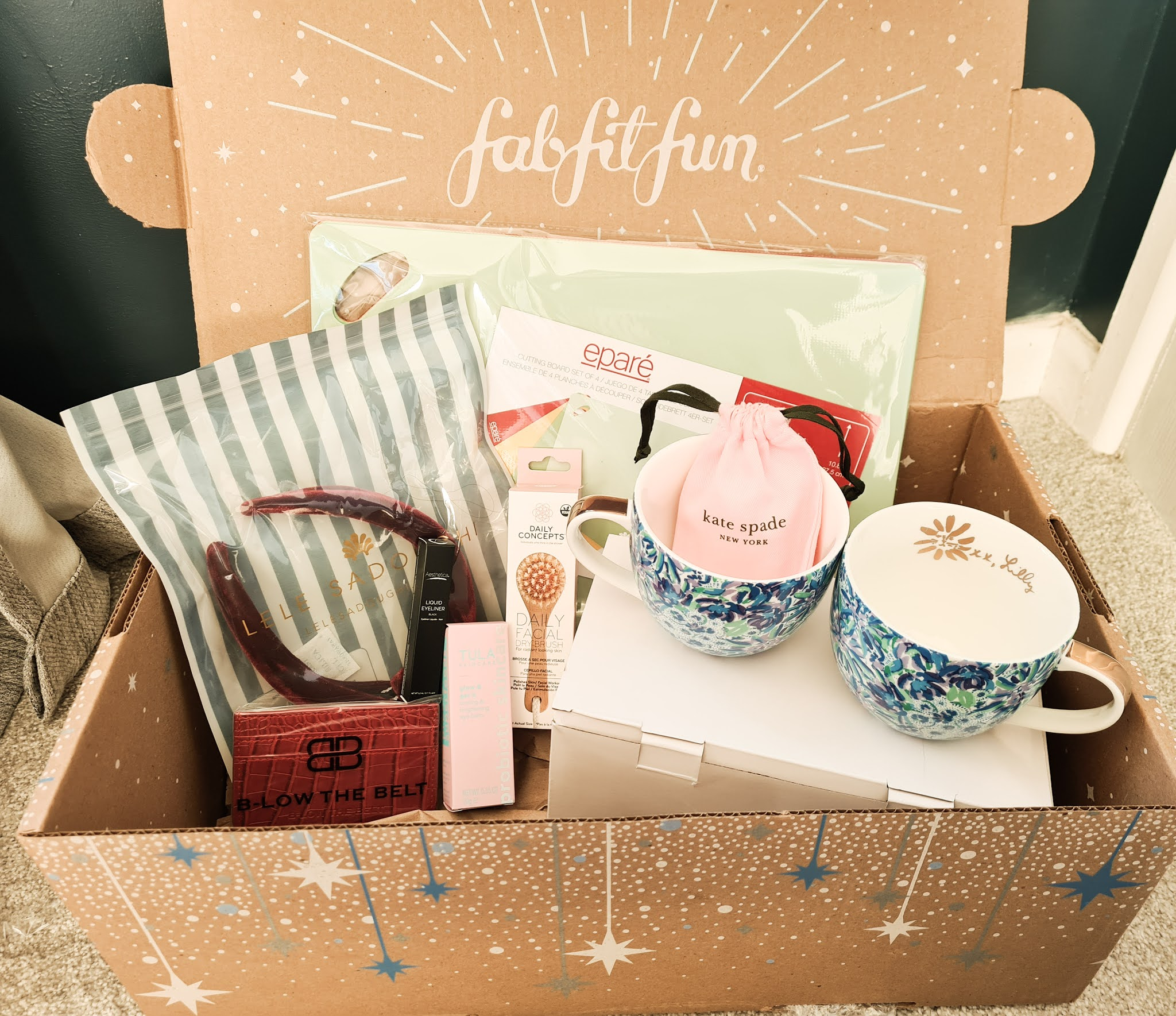FabFitFun Winter 2020 Box Review