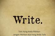 Cara Menulis Kreatif ; Catatan diatas Kloset