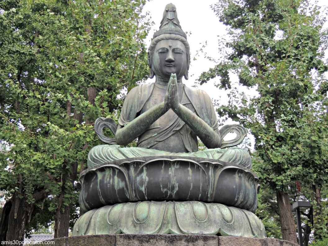 Kannon en Templo Sensō-ji en Tokio