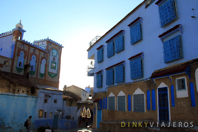 Melah, barrio judío de Chaouen