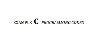 C programming example codes in PDF