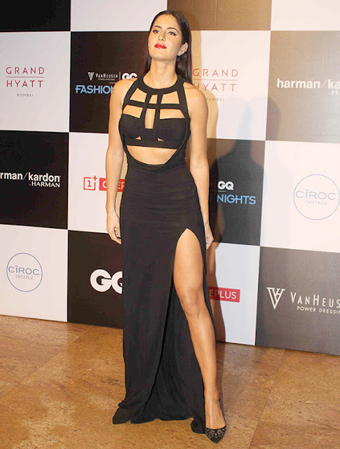 Katrina Kaif in Thigh High Slit Dress