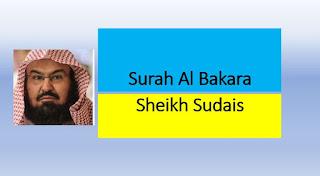 Surah Baqarah Fast Recitation by Sheikh Sudais