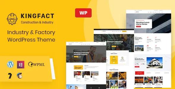 Best Industry & Factory WordPress Theme