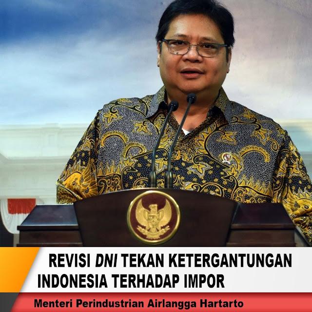 Revisi DNI Tekan Ketergantungan Indonesia Terhadap Impor