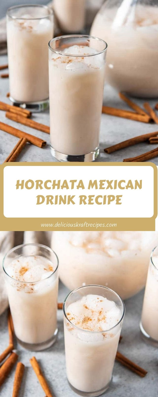 HORCHATA MEXICAN DRINK RECIPE