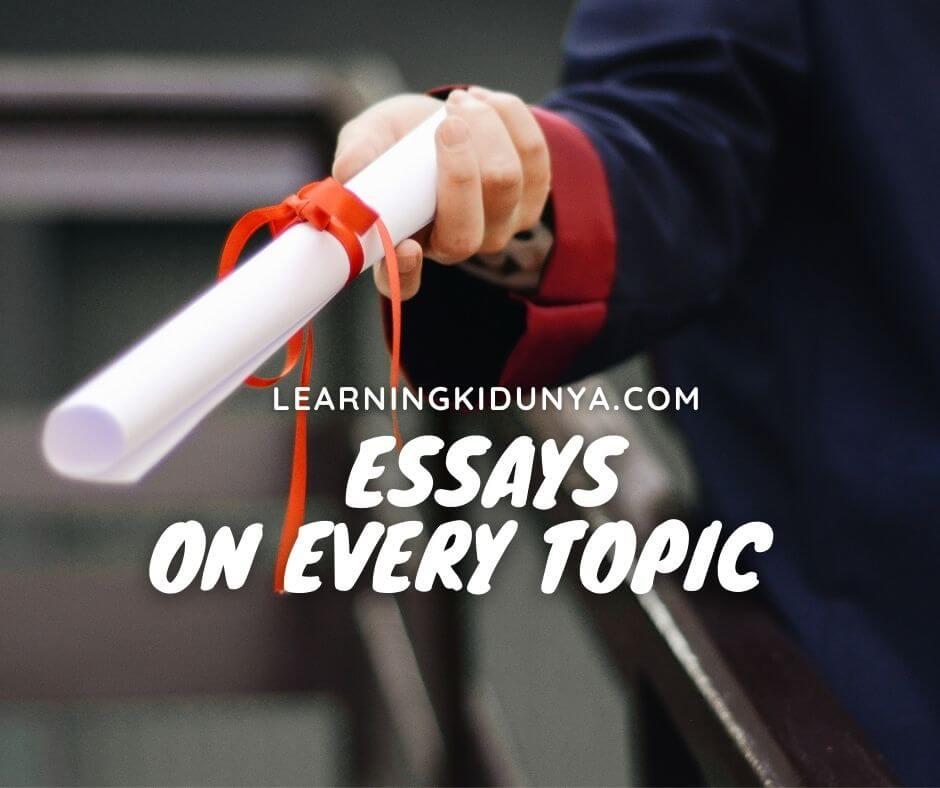 Essay | Essays In English | Descriptive Essay | Essay Writing