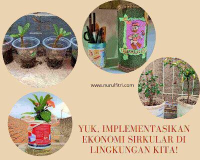 Menerapkan implementasi ekonomi sirkular