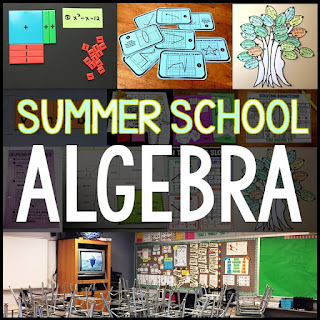 Summer School Algebra Bundle