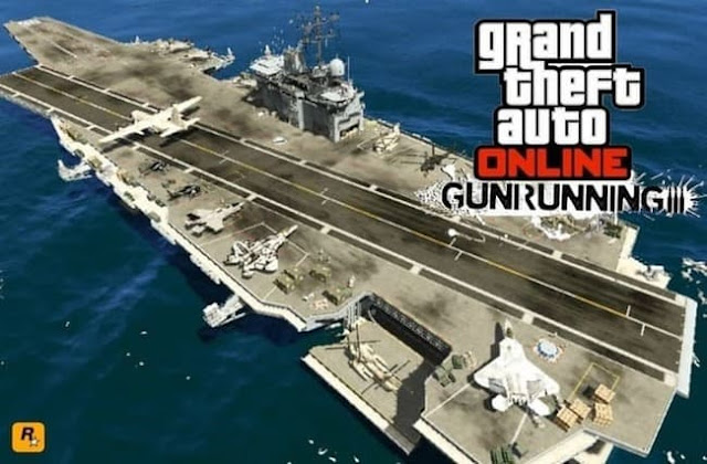 تفرخ حاملة الطائرات في (GTA 5 Online (GTA 5
