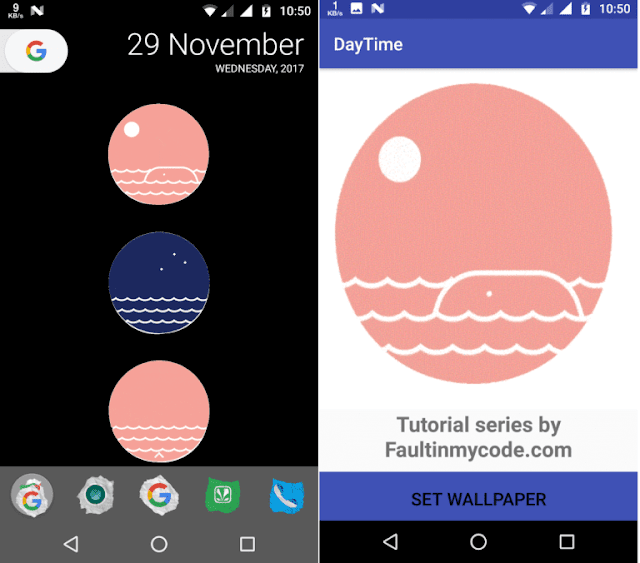 Android Live Wallpaper Tutorial