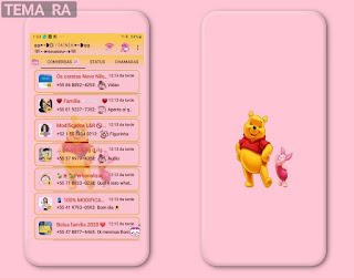 Pooh Theme For YOWhatsApp & RA WhatsApp By Diana