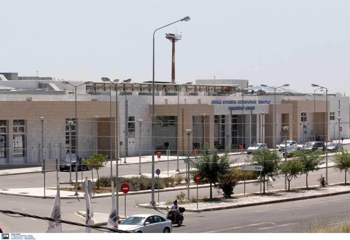 Μεγάλες ζημιές στο αεροδρόμιο της Αλεξανδρούπολης από την κακοκαιρία