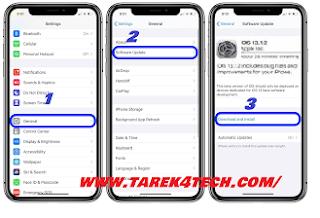 مميزات نظام التشغيل iOS 13.1.2 و طريقة تحديث الآيفون إلى الإصدار iOS 13.1.2