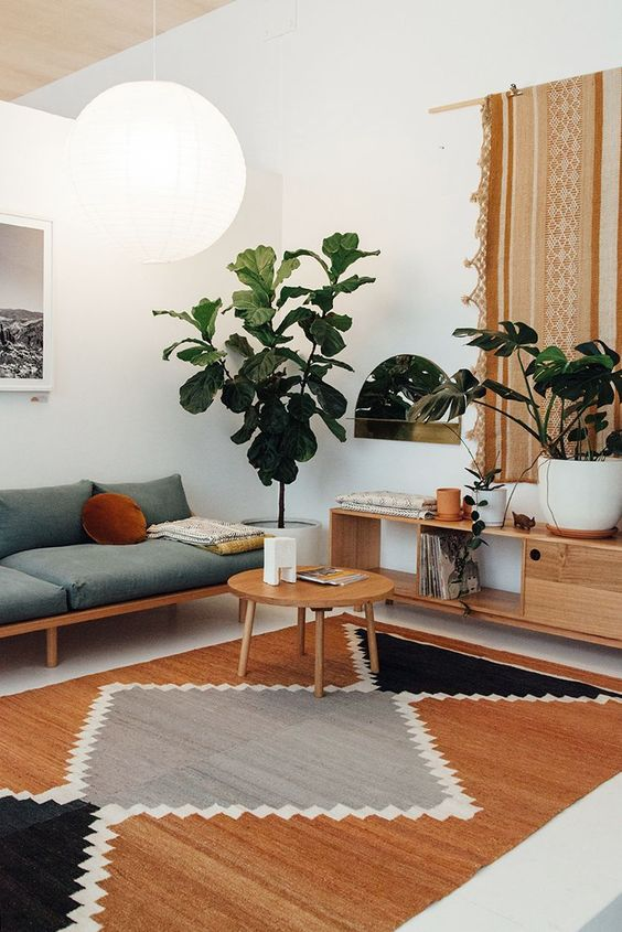 Modern rugs and decor Trending This Year