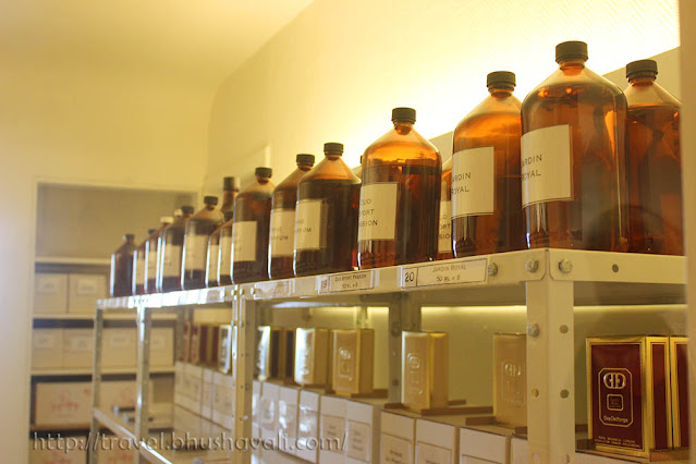 Guy Delforge Perfumery Tour Things to do in Namur