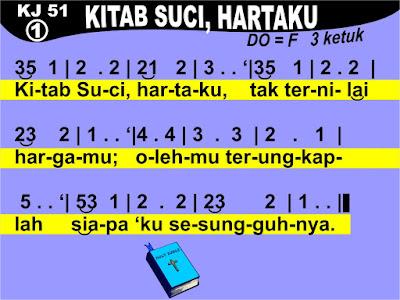 Lirik dan Not Kidung Jemaat 51 Kitab Suci, Hartaku