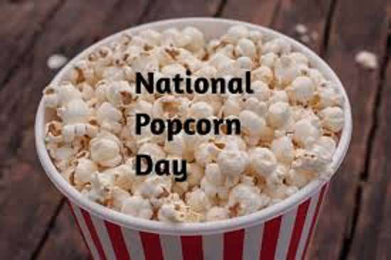 National Popcorn Day Wishes Beautiful Image