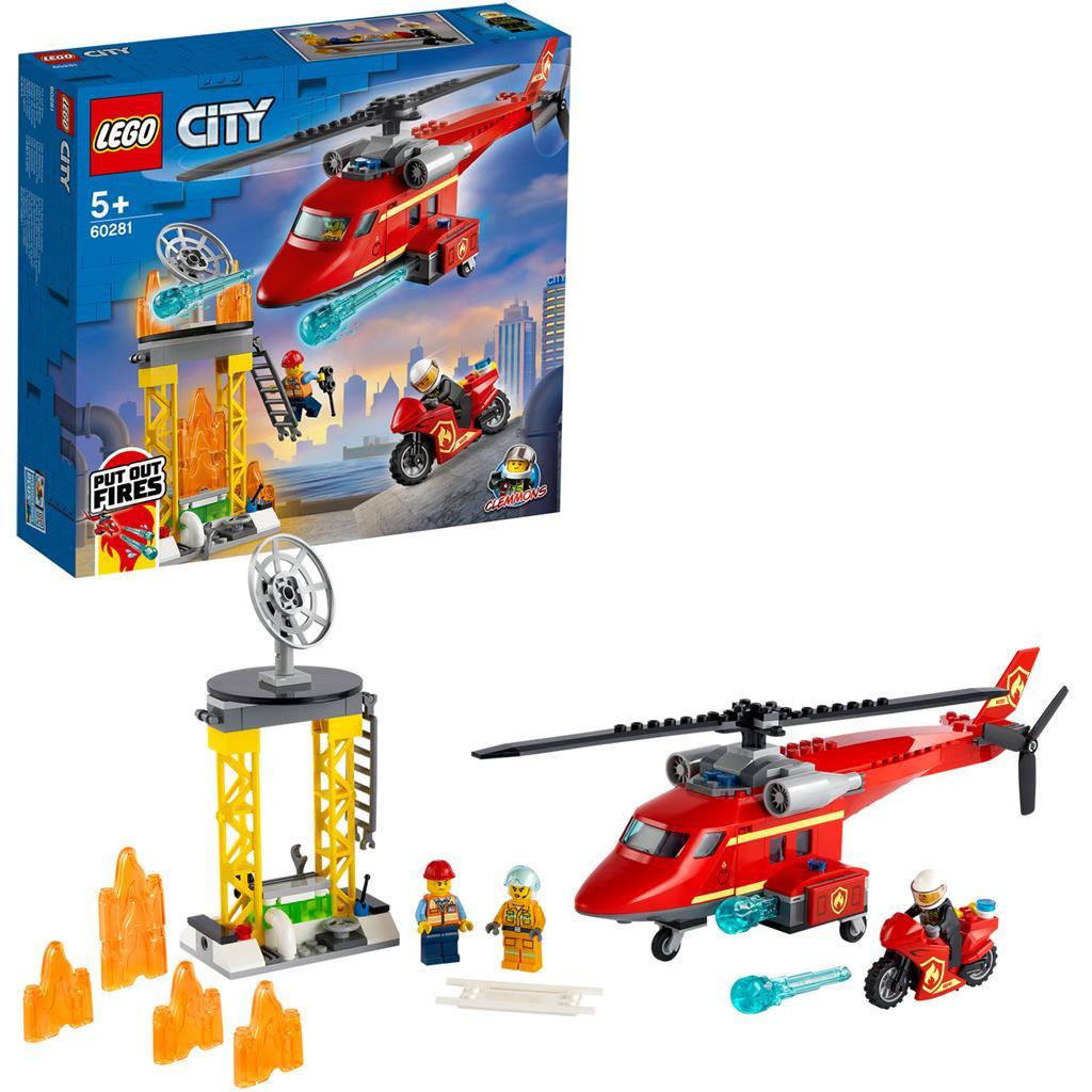 レゴ(LEGO) シティ 消防ヘリコプター 60281
