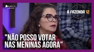 A Fazenda 12 – Luiza vota em Juliano – Lucas vota em Biel – Tays vota no Rodrigo